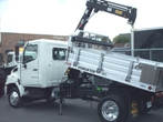 Starlifter Aluminum Dumper | Flatbed Truck Body