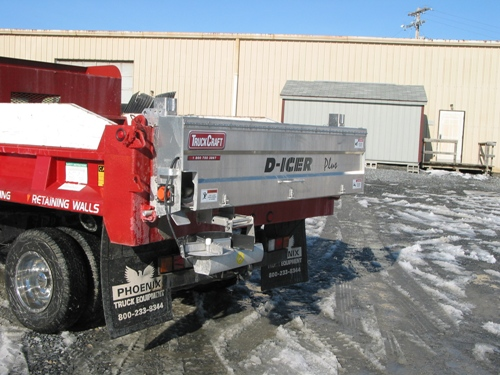 TC-140 D-Icer | Truck Accessory - Salt Spreader