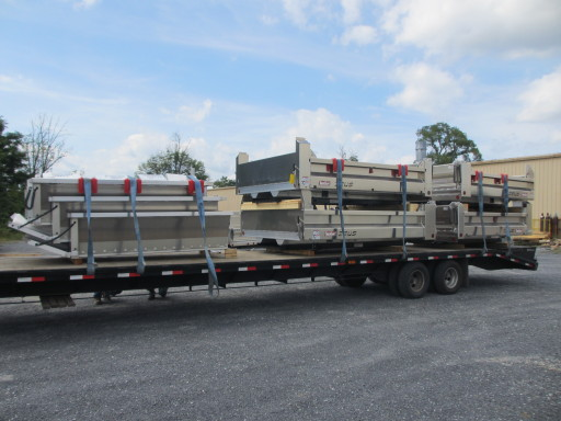 Another load of TruckCraft aluminum truck bodies