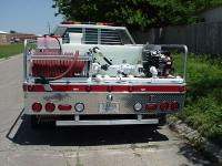 FIRE TRUCK BASED ON TC500 WITH STEP BUMPER