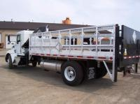 TC-500 BASED DEALER-CUSTOMIZED with CRANE & LIFT GATE